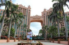 2004 Eagle winners and Double Platinums Robert and Donna Fason pose for a picture during a beautiful day in the Bahamas.