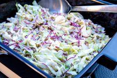 Coleslaw med färsk vitkål
