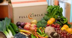 Full Circle Organic Produce & Groceries... pick up or delivery, local produce, certified organic... something to look into!