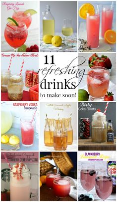 11 Refreshing Drinks