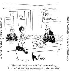 Clinical Research Cartoon. Hagen. 'Is it true? You've been