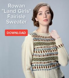 Knit your own beautiful Fairisle jumper with this free pattern: http://blog.loveknitting.com/?p=3237