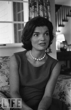 Beyond a doubt---the most classic, fascinating, honorable First Lady. She's my pearl queen! And Barbara Bush and Lady Diana.