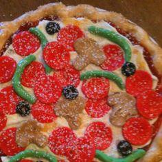 Pizza cake Ninja Turtle Party, Ninja Turtles, Mutant Ninja, Teenage Mutant, Pizza Cake, Pizza Party, Fancy Cakes, Themed Cakes, Vegetable Pizza