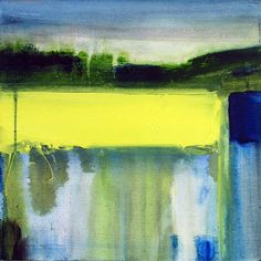 """Gina Parr; Mixed Media, 2011, Painting """"Sun on the Warren"""