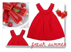 """""""fresh summer"""" by tuaptstore on Polyvore featuring Summer, BabyGirl, girl and kids"""