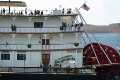 Branson, Missouri, is a lively vacation spot with theme-park fun, live theater and the Showboat Branson Belle.