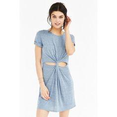 Honey Punch Knotted T-Shirt Dress