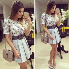 Shades of grey! 💜 By @madrecitaa #lookdanoite #lookofthenight #ootn #selfie #blogtrendalert