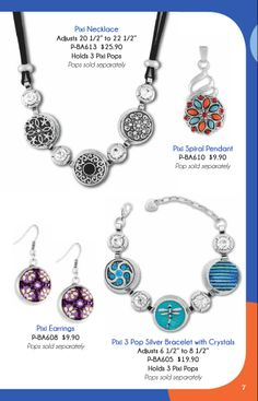 #SpringSummer2014 #AZULISKYE introducing the all new #Pixi #Collection. Fun, fun, fun #jewelry | Get yours today at www.azuliskye.com/chinglo