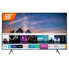 "Smart TV LED 50"" Ultra HD 4K Samsung RU7100 3 HDMI 2 USB Wi-Fi iTunes - Magazine Vendasonlineweb Dolby Digital, Tvs, Tv Led 40, Quad, Tv Android, Smart Tv 4k, Hd Samsung, Ultra Hd 4k, Products"