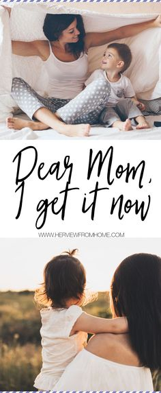 To my mom: i get it now parenting tips and ideas Parenting Humor, Parenting Advice, Christian Parenting Books, Raising Teenagers, Mom Jokes, Quotes About Motherhood, Dear Mom, Sick Kids, Get It Now
