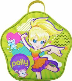 Polly Pocket Case - Colors May Vary by Tara Toy. $11.99. Ideal storage for all of your polly pockets, polly vehiles and more. A must-have for every polly pocket fan. Holds more than 20 polly pockets. Mom's perfect answer to the mess and disorganization of her daughter's polly pocket collection. Adorable graphics and colors make this case Super Fun. From the Manufacturer                It's cool for a girl to carry her favorite Polly Pocket dolls inside this dazzlin' d...