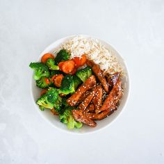 Recipe: Make This Healthy Chicken Teriyaki Bowl In Under 20 Minutes Healthy Mummy Recipes, Easy Healthy Dinners, Lunch Recipes, Healthy Snacks, Teriyaki Bowl, Teriyaki Chicken, Healthy Cooking, Healthy Eating, Cooking Recipes