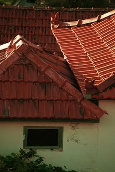 Red roofs of Madeira
