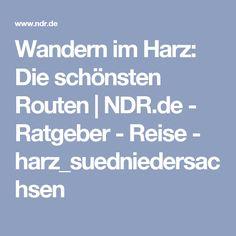 Wandern im Harz: Die schönsten Routen | NDR.de - Ratgeber - Reise - harz_suedniedersachsen