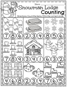 January Preschool Worksheets January Preschool Worksheets