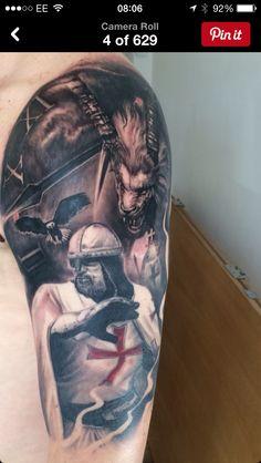 Knight tattoo