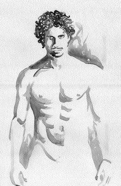 Male Nude by Daniele Bagnara
