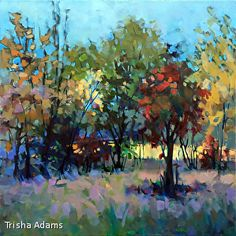 Mad Color by Trisha Adams Oil ~ 36 x 36