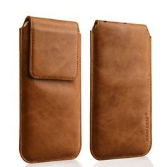 Jisoncase Phone Case For iPhone 6 / 6 Plus Bag Genuine Leather For iPhone 6s / 6s Plus Sleeve Pouch Cover Magnetic Closure