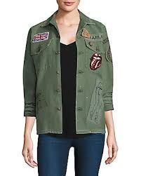 Sequin Patch, Sequin Jacket, Field Jacket, Cropped Trousers, Green Jacket, Rolling Stones, Army Green, Sequins, Street Style