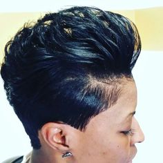 This style is nice and sleek. A few highlights in the top would really make it rock.