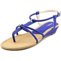 Alfani Womens Carah Open Toe Casual Wedged Sandals -- Learn more by visiting the image link. (This is an affiliate link) #niceshoes