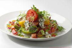 Kenny Callaghan's Tomato Salad #salad #chefs