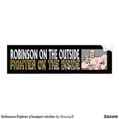 Robinson Fighter 3 bumper sticker