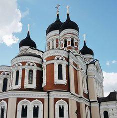 Alexander Nevsky Cathedral, Tallinn, Estonia.