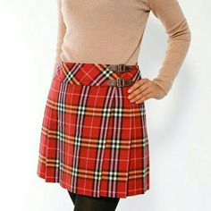 BURBERRY Blue Label Wrap Skirt 100% Authentic Shows signs of wear from normal use. Burberry Skirts