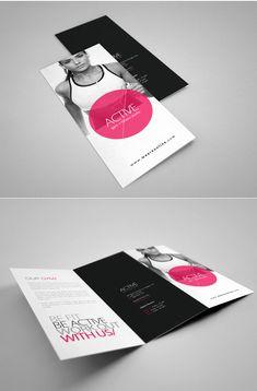 Fitness Brochure by 24BEYOND , via Behance