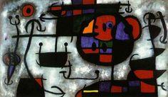 Le jardin des plaisirs terrestres, par Joan Miro