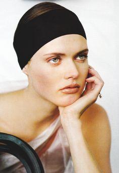 malgosia bela by ruven afanador for vogue paris february 2000.