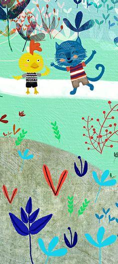 """**Mia Charro - Illustrator** Another piece of my new book """"La Fiesta del Mar"""""""