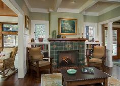 On Pinterest Craftsman Living Rooms Craftsman And Arts Crafts