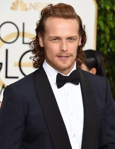 The Cast of Outlander on Golden Globes Red Carpet | POPSUGAR Celebrity