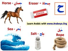 Words with Letter ح