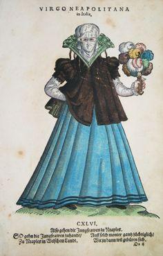 NEAPEL / NAPOLI ITALIEN KOSTÜME COSTUMES WEIGEL 1577