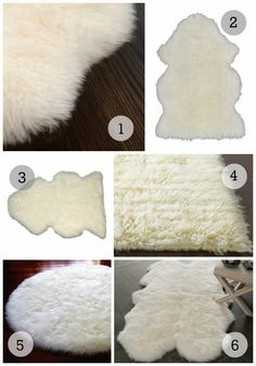 Nursery Trend Watch: Sheepskin Rugs 1. Ecowool Sheepskin Rug $96  /2. IKEA Rens Sheepskin $29  /3. Target Single Sheepskin Pelt $99 /4. Shag Flokati Rug $152  /5. Fur Accents Round $39    /6. Safavieh Sheepskin Shag $105