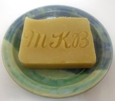 Personalized Monogrammed Gfit Soap  Lemongrass by AquarianBath