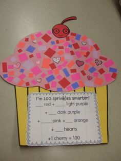 Free 100th Day of School Cupcake & More