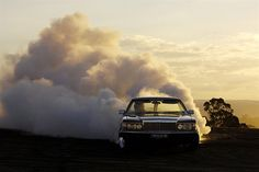 Striking photos of car burnouts by Simon Davidson | The Fox Is Black