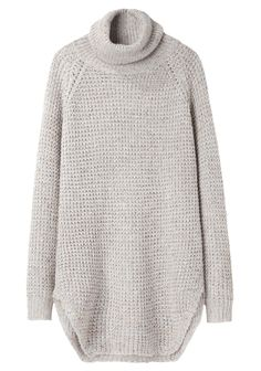 With leggings and boots... This just seems like the ultimate warm, comfy, lazy-day sweater.