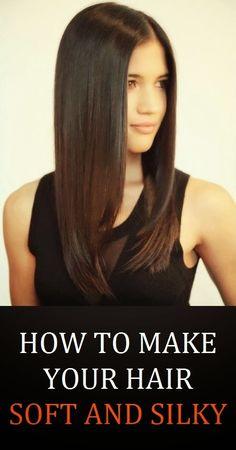 How to Get Silky Hair  #haircare #haircaretips #healthyhair  http://www.atalskinsolutions.com/