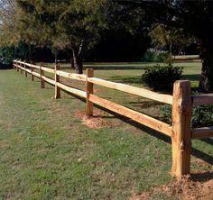 Split Rail Fencing | Rustic Fence