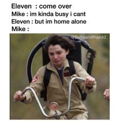 #mileven #mikewheeler #eleven #strangerthings #milliebobbybrown #strangerthings