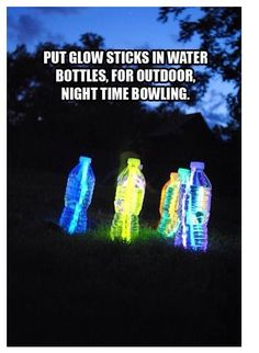 Glow in the dark lights for parties or other things!:) this is sweet I'm doing this