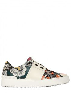 Valentino Sneakers flowers _Are You Shonected?Visit Shonect.com